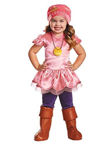 Disney Jake & The Never Land Pirates Toddler Girls Izzy Halloween Costume ()