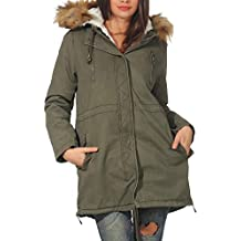 Army Donna Cappotto Gree Oudan L qwEH8aC