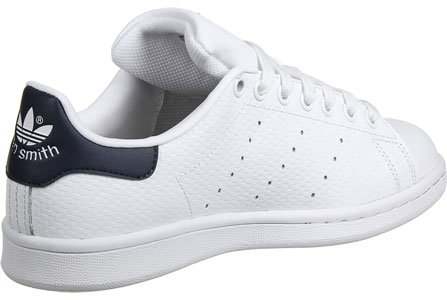 adidas Stan Smith chaussures blanc bleu