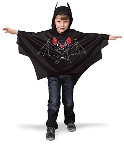 Fledermaus Cape für Kinder Kostüm ()
