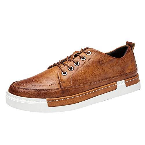 iHENGH Scarpa Ginnastica Uomo Moda Casual Estate Francesina Pantofola Vintage Rete Uomo Shoes Men 2019 Nuovo Running Sport Scarpe Ragazzo Lace-Up Breathable Sneakers Respirante Pu