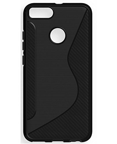 Mobiccessories Back Cover Case, Rugged Armor For Xiaomi MI A1 A 1 Slim Durable Anti Scratch Air Cushion Anti Shock Flexible Soft TPU - Black  available at amazon for Rs.89