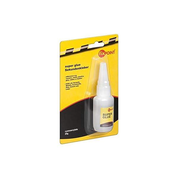 Fixpoint-77012-Adesivo-Istantaneo-Super-Glue-adesivo-universale-con-pratico-tappo-di-dosaggio-richiudibile-20-g
