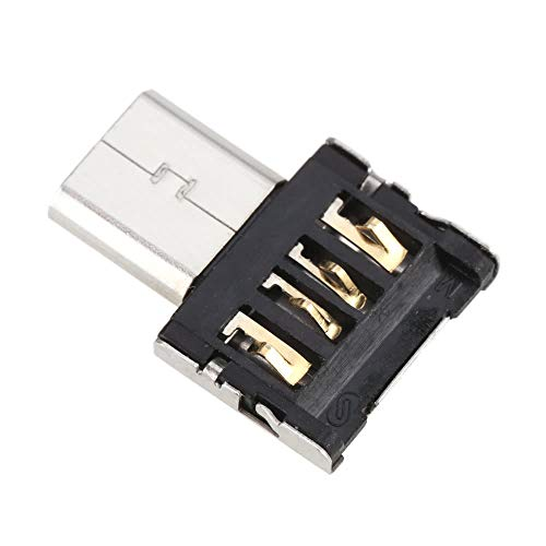 JUTEK Ultra Mini Micro USB 5pin OTG Adapter Connector for Cellphone/Tablet/USB Cable/Flash Disk