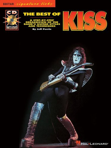 Tab Book Guitar Kiss (The Best Of Kiss Tab Book/Cd (Guitar Signature Licks) by Various (31-May-2007) Paperback)