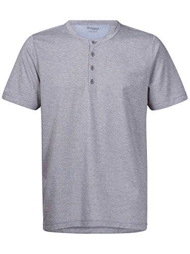 Herren T-Shirt Bergans Gullholmen T-Shirt Grey Mel