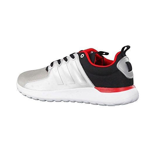 Prata Herren Cloudfoam Escarlate Neo Adidas Piloto Núcleo Sw Preto Fosco Sneaker Lite xw715zS