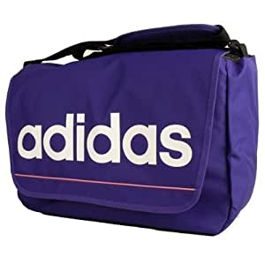 Adidas Retro Shoulder Record Messenger Bag Womens Mens Laptop School Boys Girls