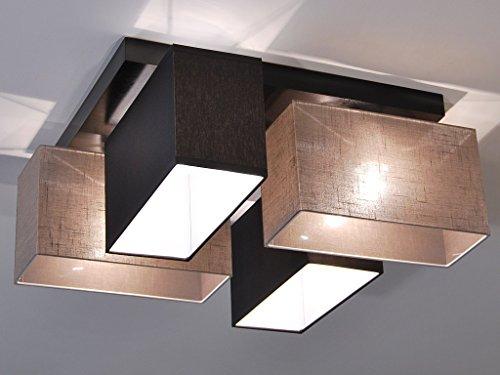 Deckenlampe - HausLeuchten JLS4126D, Deckenleuchte, Leuchte, Lampe, 4-flammig, Massivholz