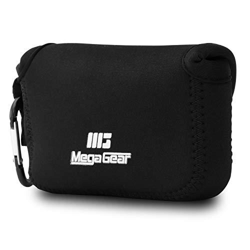 MegaGear MG021 Para Canon PowerShot SX720 HS, SX710 HS, SX700 HS, SX170 IS, G16, G15, SX160 IS, Sony Cyber-shot DSC-HX60V, DSC-HX50V Estuche de cámara ultra ligero, de neopreno - Schwarz