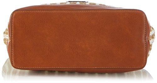 Gerry Weber 4080003155 Damen Henkeltaschen 39x31x13 cm (B x H x T) Braun (Light Brown)