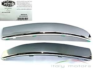 Original fIAT 500 moulure de pare-chocs avant 735455057 735455056–chromé