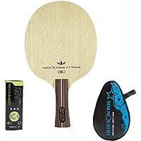 Profesional tenis de mesa hoja 5Ply Abachi raqueta de tenis de mesa de madera para adolescentes pelotas de ping pong, V3