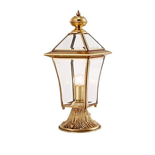 ROLLHHW Europäische wasserdichte Spalten-Landschaftslicht-Narben-Lampen-Dekorations-Lampen-Pfosten-Lichter im Freien für Gartenzaun-Park-Hof - Licht-vakuum