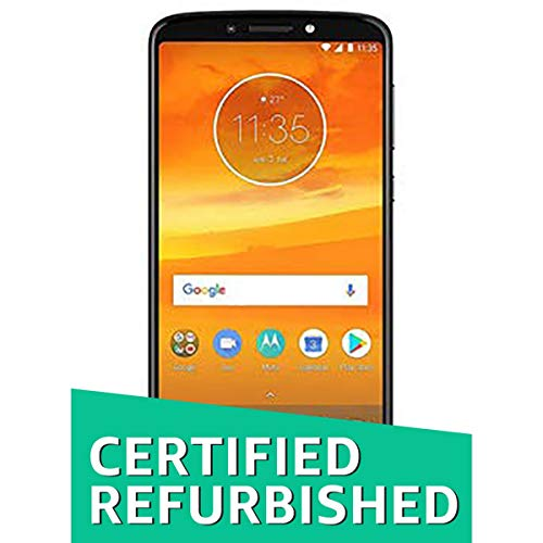 (Certified REFURBISHED) Motorola Moto E5 Plus (Black, 32GB)