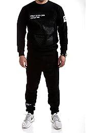 MT Styles ensemble pantalon de sport + sweat-Shirt jogging survêtement JUDGE TR-5098
