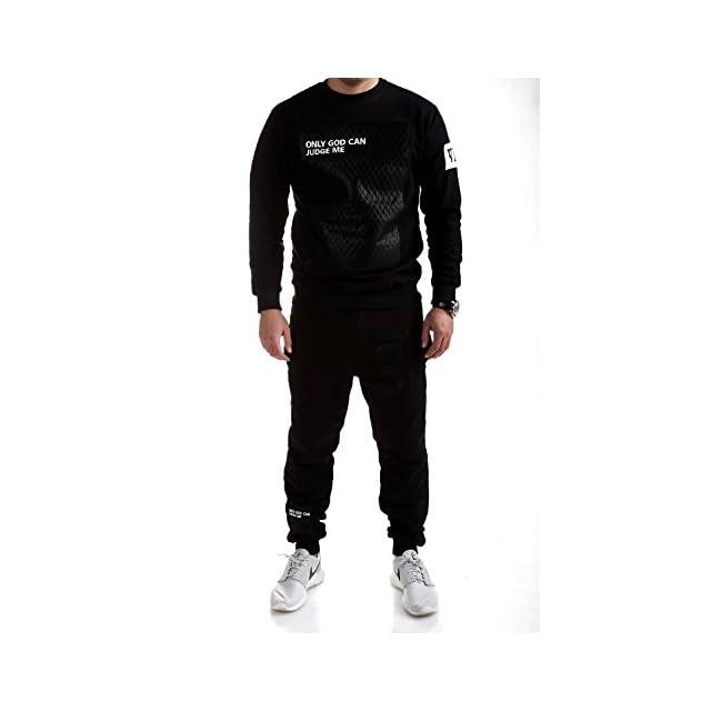 0144d4e1f5 MT Styles Ensemble Pantalon de Sport + Sweat-Shirt Jogging survêtement  Judge TR-5098 ...
