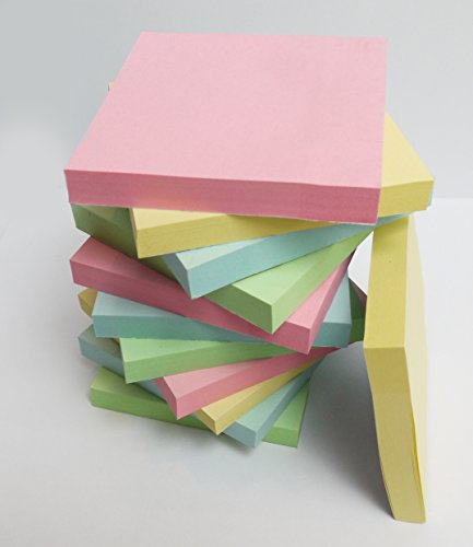 200-quality-pastel-assorted-coloured-removable-sticky-notes-adhesive-notes-76x76mm-2-pads-of-100-ind