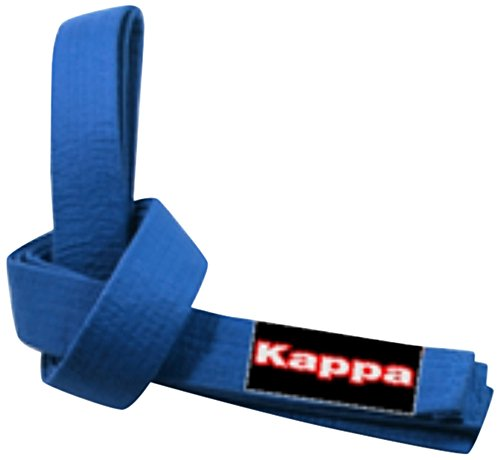 Kappa4Karate Montreal, Cintura Karate-Judo Unisex – Adulto, Blu, 4/300 cm