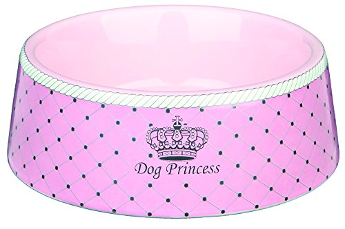 Trixie Dog Princess Ecuelle en Céramique pour Chien Rose Diamètre 16 cm 0,45 L