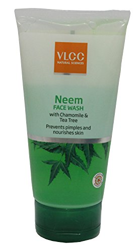 VLCC Neem Face Wash 150 ml Single  available at amazon for Rs.125