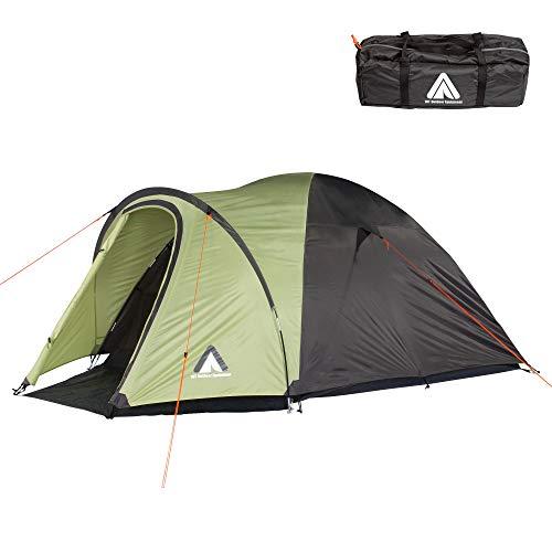 10T Zelt Scone Beechnut 4 Mann Kuppelzelt wasserdichtes Campingzelt 5000mm Igluzelt mit Vorraum