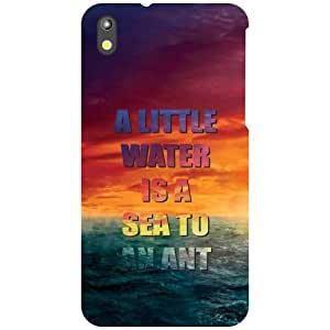HTC Desire 816G Back Cover - Little Water Designer Cases