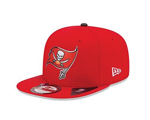 2015NFL Draft 9Fifty Snapback Cap, unisex, rot, Einheitsgröße Nfl-draft 2015