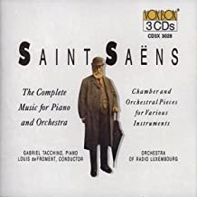 Saint Saens: The Complete Music For Piano And Orchestra/...