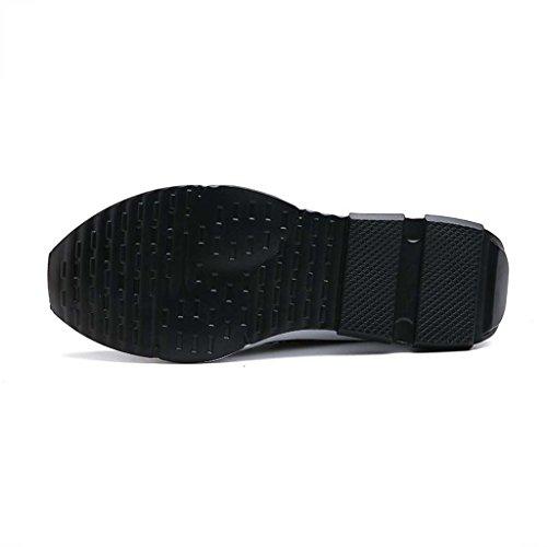 ZXCV Scarpe all'aperto Scarpe sportivi scarpe da corsa per i pattini degli uomini di cocco respirabili degli uomini Nero