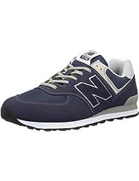 New Balance Herren 574v2 Core Sneaker, Blau (Navy), 44 EU