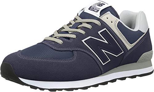 New Balance 574 Core Zapatillas Hombre, Azul (Blue Navy), 42 EU (8 UK)