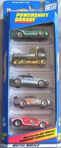 Hot Wheels Powershift Garage Gift 5-Pack 5-Pack 5-Pack Five 1:64 Scale Collectible Die Cast Cars by Hot Wheels   Le Moins Cher  6cd9a8