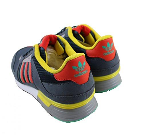 Adidas - Zx 630 - Colore: Grigio-rosso-giallo - Dimensione: 7.0us Grey-Red-Yellow