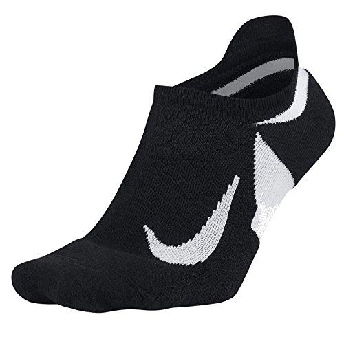 Nike Herren U NK ELT Cush NS Socken ,schwarz (Black/Weiß/010), 42--46 EU (Nike Herren Running Socken)