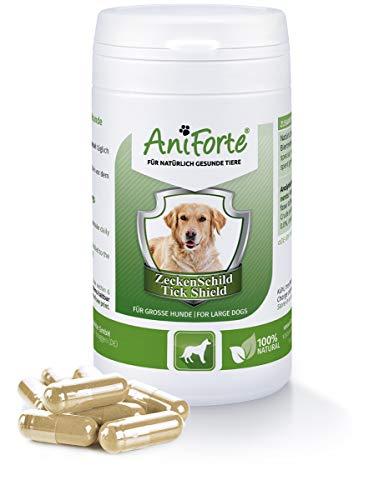 AniForte Zeckenschild für große Hunde 60 Kapseln - Naturprodukt, Hunde 35-50kg
