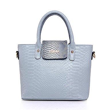 La donna pu formale / Casual / Ufficio & Carriera Set borsa,viola Gray