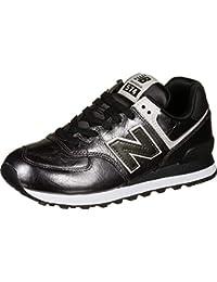 New Balance Damen 574v2 Sneaker, schwarz, 41 EU