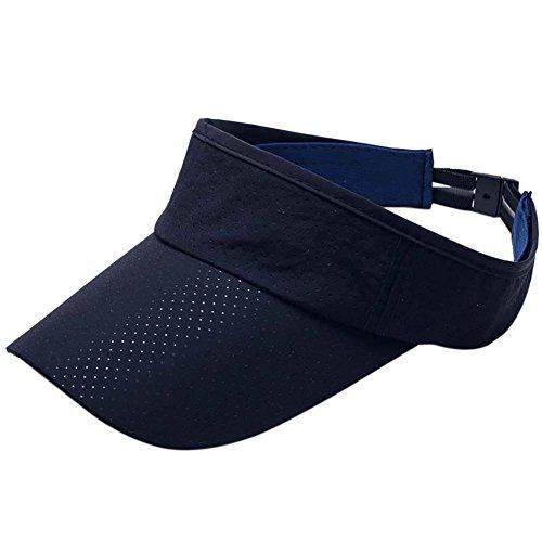 Reefa Summer Breathable Sun Visor Cap Ultra Thin Mesh Quick Dry Lightweight Tennis Cap