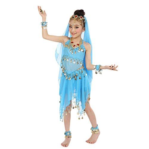 Schleier Bauchtanz Tanzen Kostüm - Amphia - Mädchen tanzen Bauchtanz-Anzüge (ohne