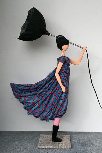skitso design lampe figur poletta leuchte mit schirm led lampen beleuchtung. Black Bedroom Furniture Sets. Home Design Ideas