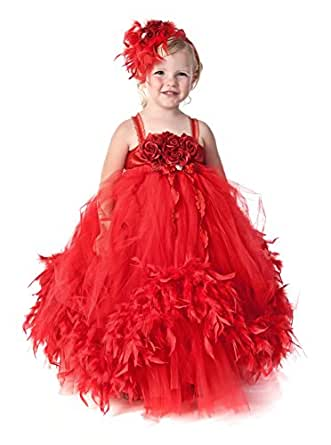princhar Tulle Flower Girl DressJunior Bridesmaids Dress ... - photo #31