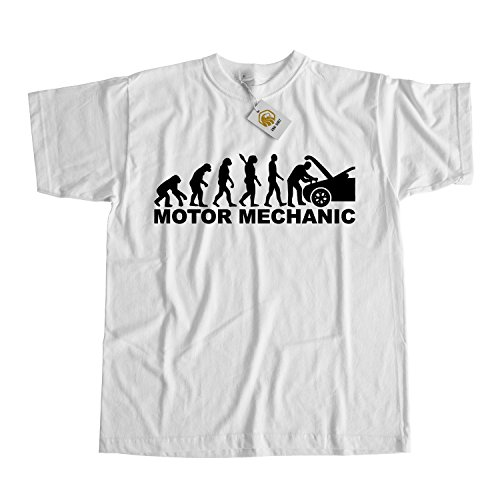 Mechanic Shirt Motor Mechanic Evolution Gift For Mechanic Grau