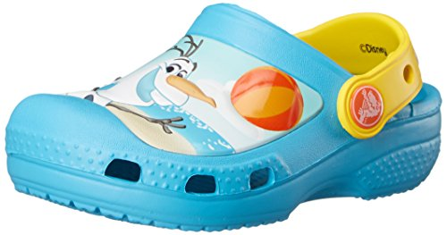 Olaf Clog, Unisex - Kinder Clogs, Blau (Electric Blue), 29/31 EU ()