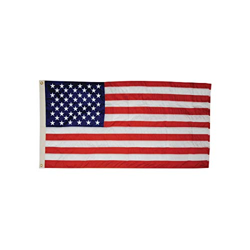 All-Weather Outdoor U.S. Flag, Heavyweight Nylon, 3 ft. x 5 ft. -