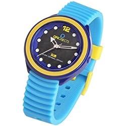 Ops Unisex -Armbanduhr Quarz Silikon OPSSUB-01