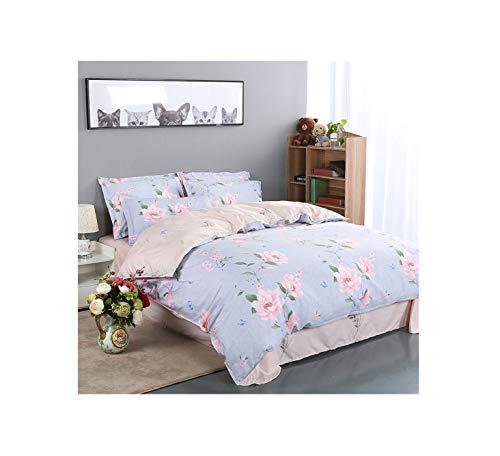 The Unbelievable Dream Bettbezug doppelseitige bettwäsche Set Baumwolle waschbar einfache niedliche Kinder Kinder Erwachsene Traum Rosen Pfingstrose, 3
