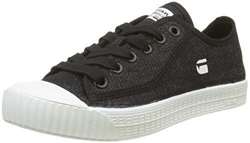 g star schuhe damen G-STAR RAW Damen Rovulc Low Sneaker, Schwarz (Black 990), 39 EU