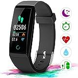 IDOOSMART Fitness Armband Fitness Tracker Sport Uhr Smart Bracelet Notifications Anrufe SMS Nachrichten Reminder Smartwatch Schrittzhler Schlaftracker Aktivittstracker