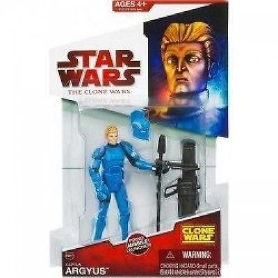 Captain Argyus Senate Commando CW31 Red Card - Star Wars The Clone Wars von Hasbro
